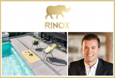 Découvrez les produits de béton de Rinox avec le VP, Bobby Correia