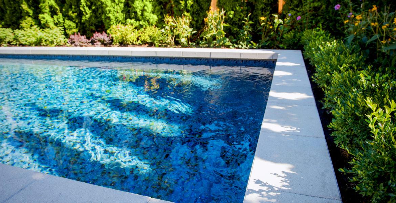 landscaping pool yard