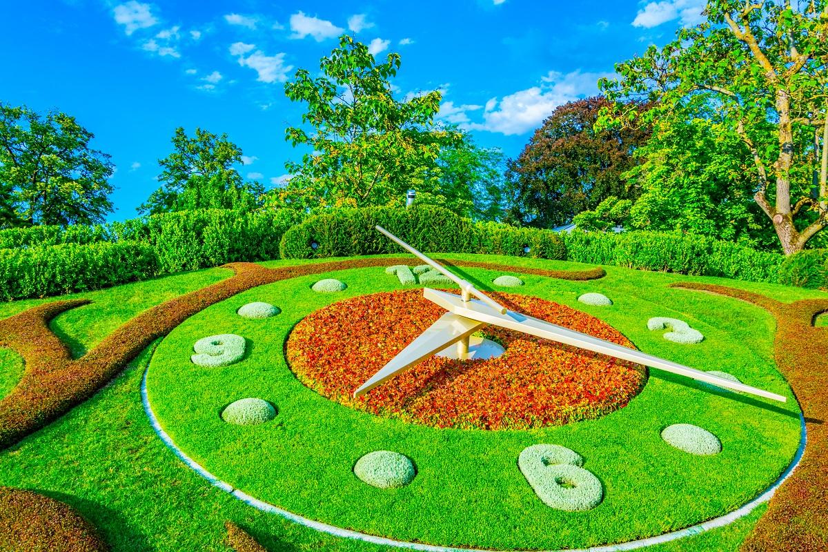Time management for landscaping